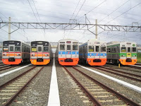 Penumpang KRL Beralih  Gunakan Angkutan Umum 231