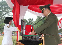 Upacara HUT Kemerdekaan Di Kota Bogor 229