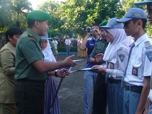 Letkol Inf Arief Gajah Mada: Bela Negara Dibina Dari Sekolah 233