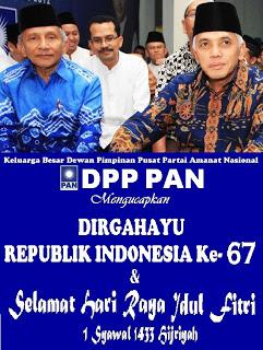 DPP PAN Mengucapkan Dirgahayu Kemerdekaan RI Ke- 67 & IDUL FITRI 1433 Hijriyah 194