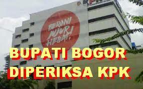 Bupati Bogor Diperiksa KPK 235