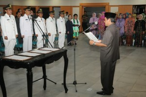 Bupati Bogor Rotasi Pejabat Struktural 235