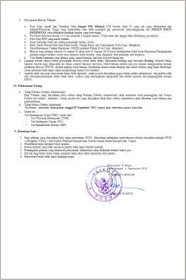 Informasi Pendaftaran CPNS 237
