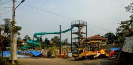 Diduga BPT Lalai Terbitkan Ijin Water Park Gumati 233