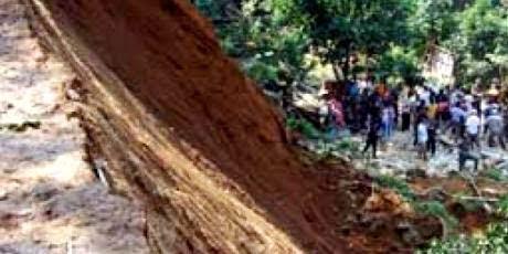 Tanah Longsor Di Cariu Bogor 236