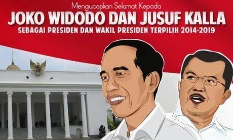 Jokowi Unggul 8.370.732 Suara Pilpres 235