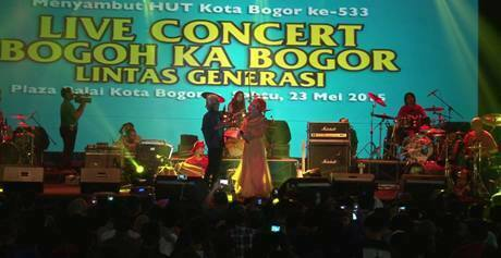 Live Concert Bogor Ka Bogoh Meriahkan HJB 231