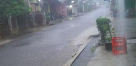 Hujan Deras Kembali Guyur Wilayah Bogor 235