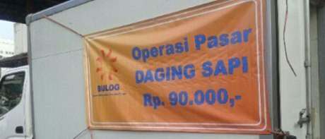 Operasi Pasar Tekan Harga Daging Sapi 235