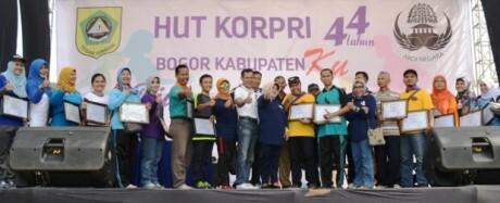 Puncak HUT KORPRI Ke-44 Dan HKN Ke-51 Kabupaten Bogor 235