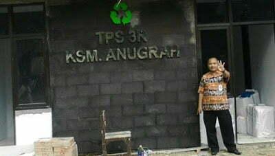 TPS 3R Hasilkan Gas Methan Tenaga Listrik 237
