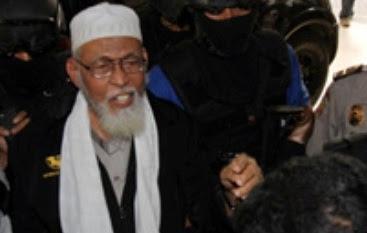 """Abu BakarBa""""asyir Dipindahkan Ke LP Gunungsindur 235"""