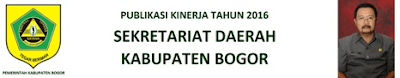 Publikasi Sekretariat Daerah Kabupaten Bogor 236