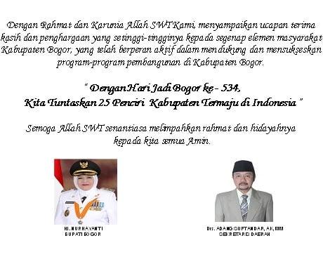 Publikasi Setda Kabupaten Bogor 239