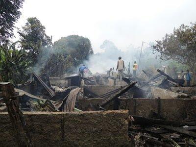 Rumah Mess Hangus Terbakar 229