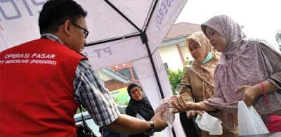 Warga Bogor Serbu Pasar Daging Murah 235