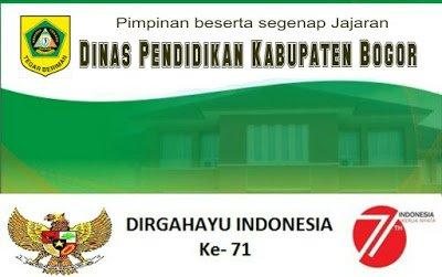 DIRGAHAYU INDONESIA Dinas Pendidikan Kabupaten Bogor 235