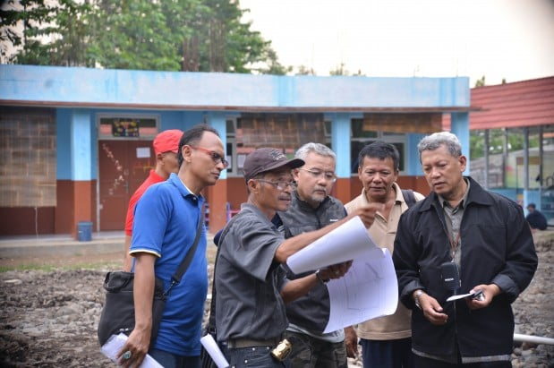 Sekretaris Daerah Kabupaten Bogor Tinjau Infrastruktur 235