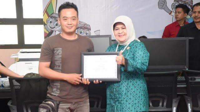 Wartawan Terima Penghargaan Ketua Sub PB PON XIX 237
