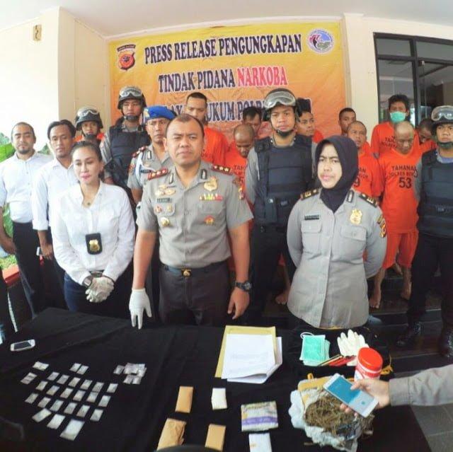 Polres Bogor Ungkap 17 Kasus Narkotika 237