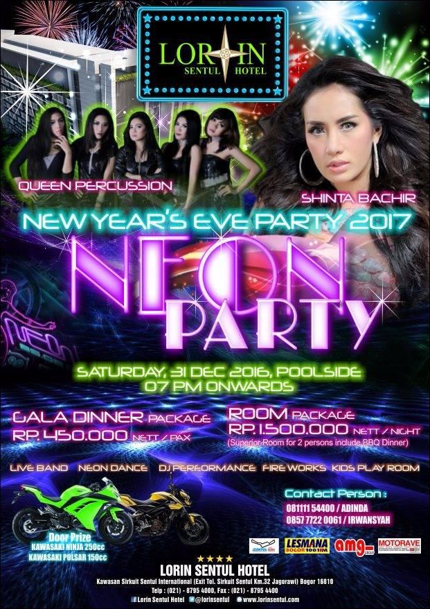 New Year'S Eve 2017 On Lorin Sentul Hotel Bogor 238