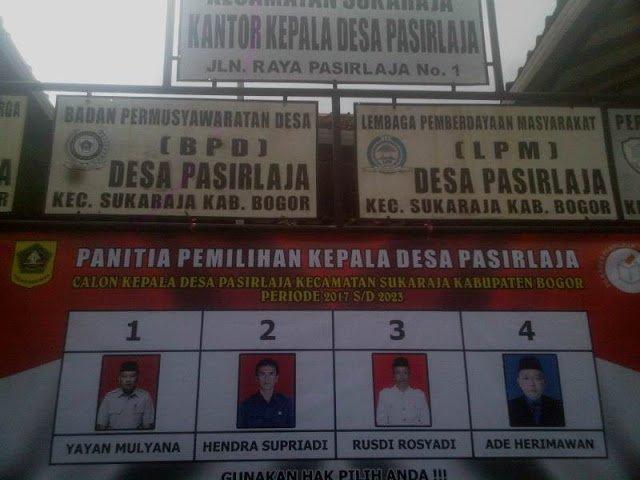 Penetapan Data Pemilih Pilkades Serentak 235