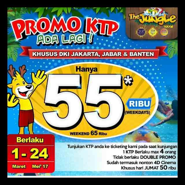Promo KTP The Jungle Waterpark 233
