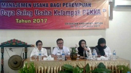 Bimbingan Manajemen Kelompok Usaha Perempuan Kabupaten Bogor 235