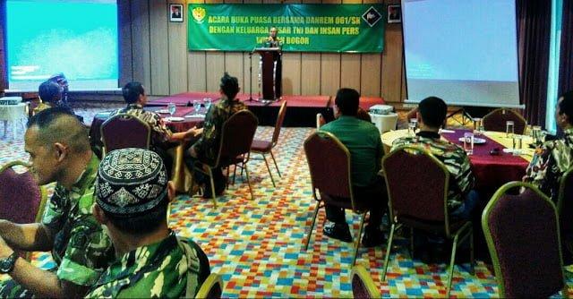 Silaturahmi Danrem 061/SK Bersama Insan Pers 229