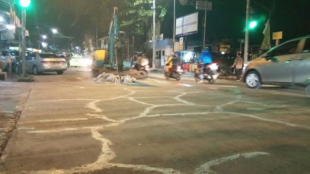 Jalan Beton Empang Pasirkuda Dibongkar Lagi 233