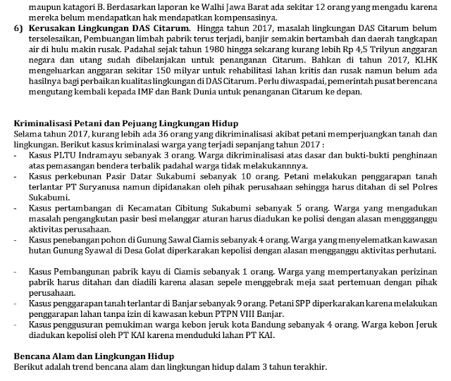 Catatan Akhir Tahun WALHI Jawa Barat 2017 238