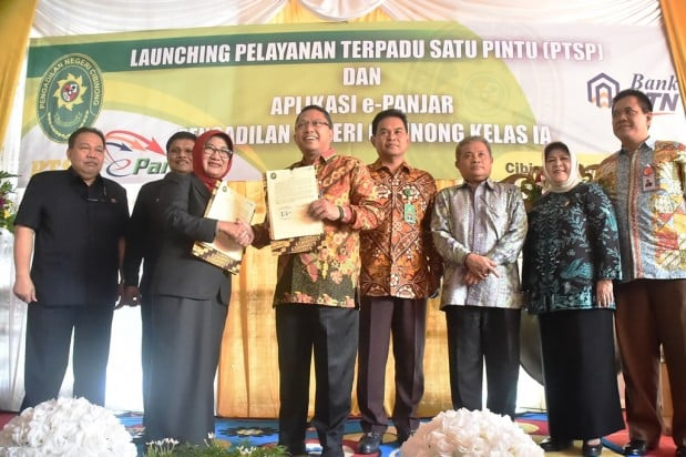 Launching E-Panjar Dan PTSP 233