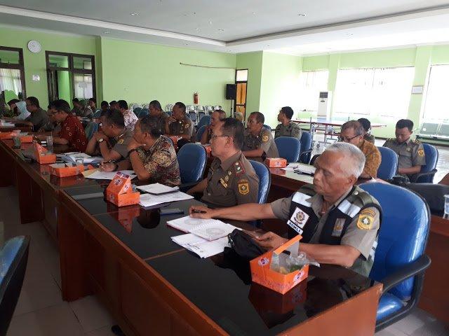 Kinerja Satpol PP Kabupaten Bogor Triwulan Pertama 237