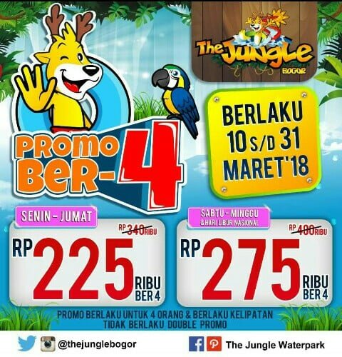 Promo The Jungle Water Park Bogor 233