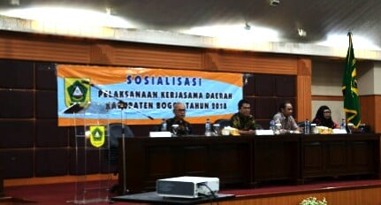 Sosialisasi Pelaksanaan Kerjasama Daerah 2018 235