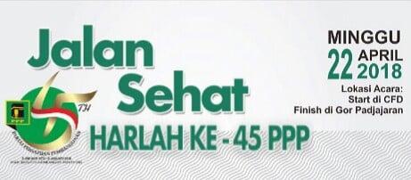 PPP Kota Bogor Gelar Jalan Sehat 235