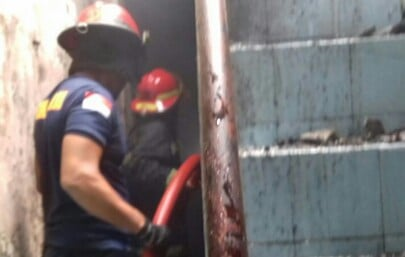 Rumah Warga Cijujung Hangus Dilalap Api 235