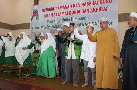 Hamida dan Hawamida Deklarasi Dukung Rindu 235