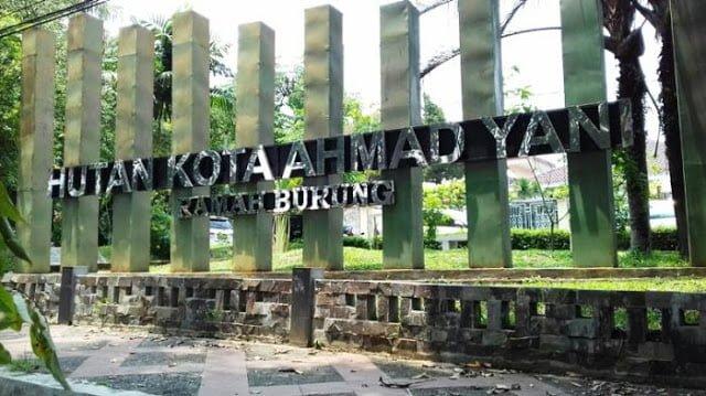 Taman Hutan Kota Bogor Ditata 235