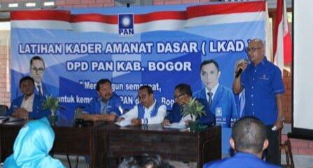 DPD PAN Kabupaten Bogor Gelar LKAD 233