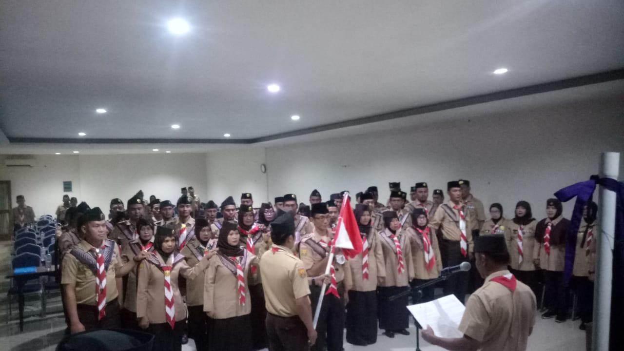 Kwartir Cabang Pramuka Kabupaten Bogor Gelar Pitaran Pelatih Pembina 238