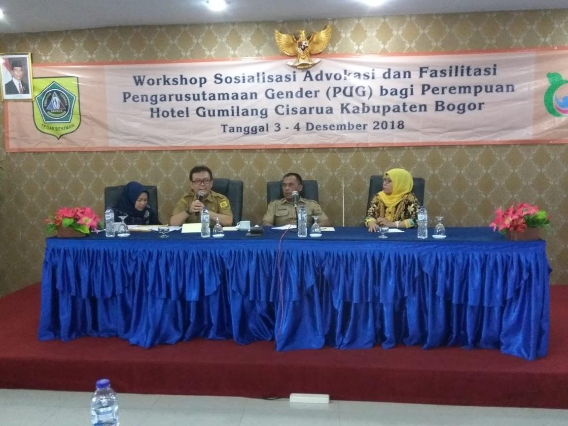Sosialisasi Advokasi Dan Fasilitasi Pengarusutamaan Gender Kabupaten Bogor 2018 230
