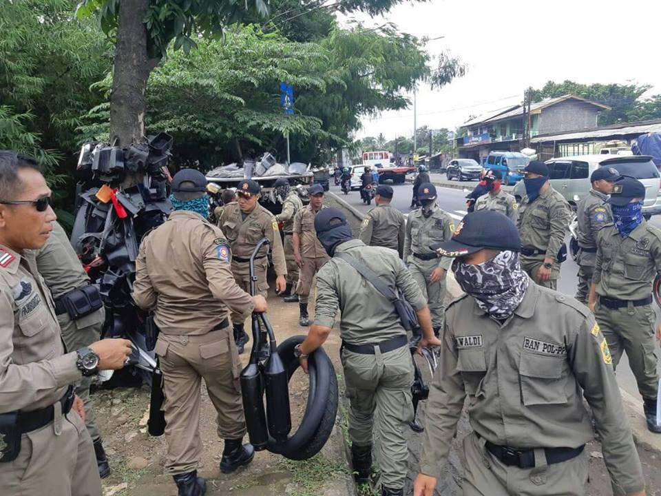 Satpol PP Kabupaten Bogor Gencarkan Penertiban 203