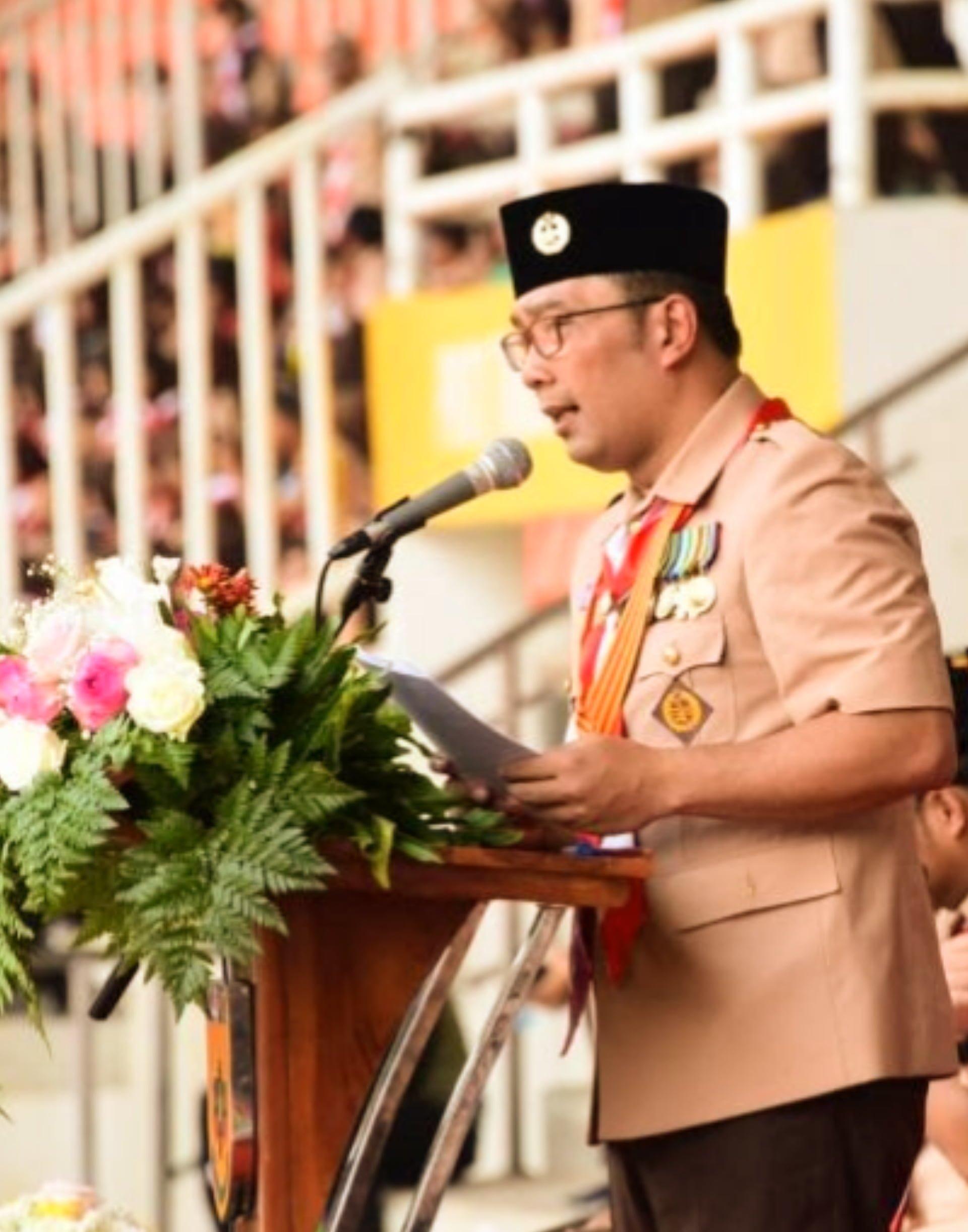 Sambutan Ridwan Kamil Pada Hari Pramuka Ke 58 Tingkat Jabar 229