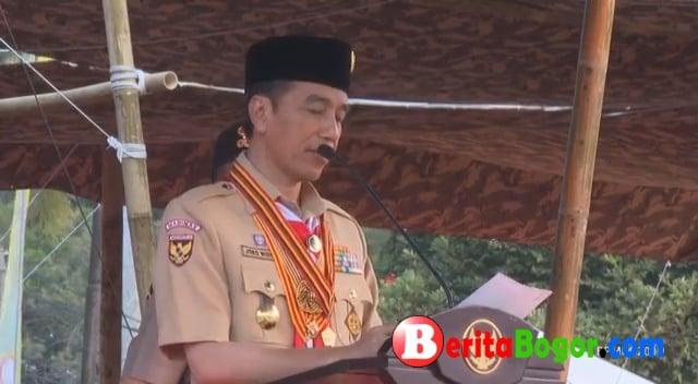 Siswa SMPN 2 Cibinong disematkan Lencana Teladan oleh Presiden Joko Widodo 204