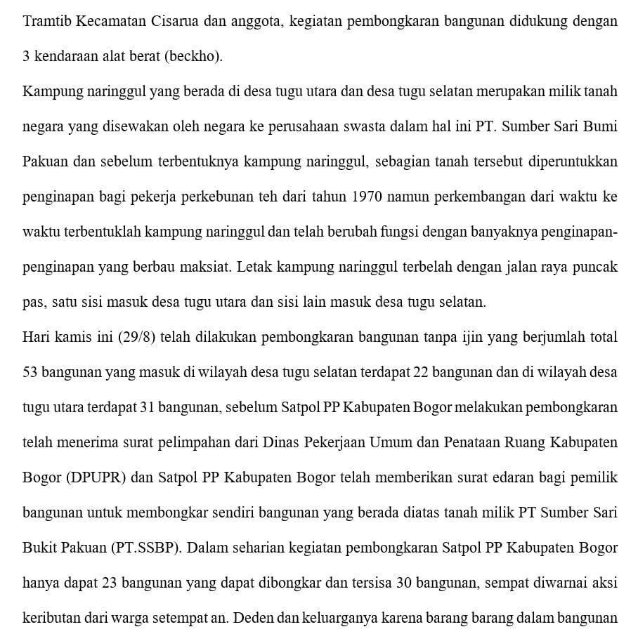 Publikasi Kinerja Satpol PP Kabupaten Bogor Tahun 2019 202