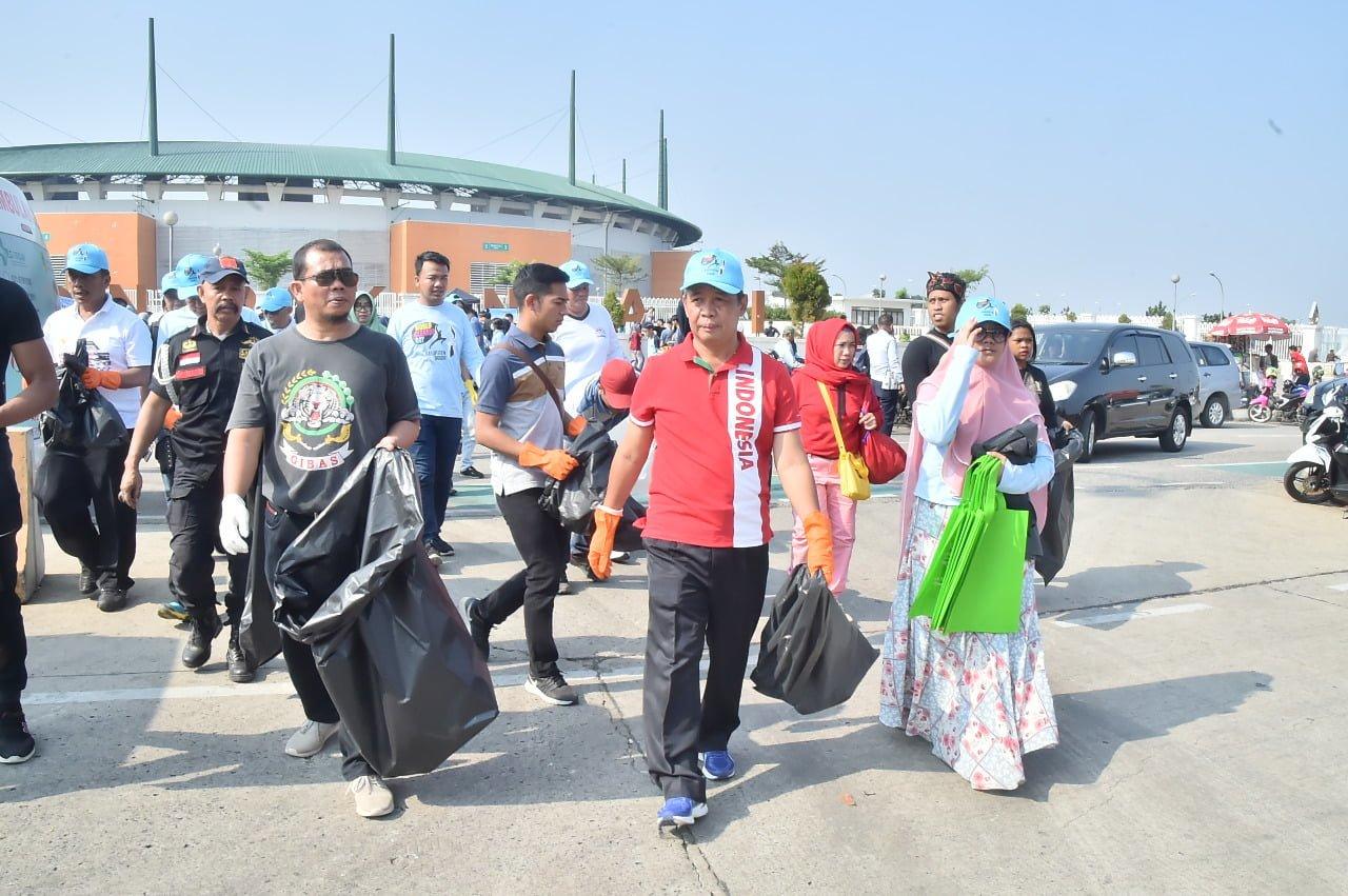 Pemkab Bogor Peringati World Clean Up