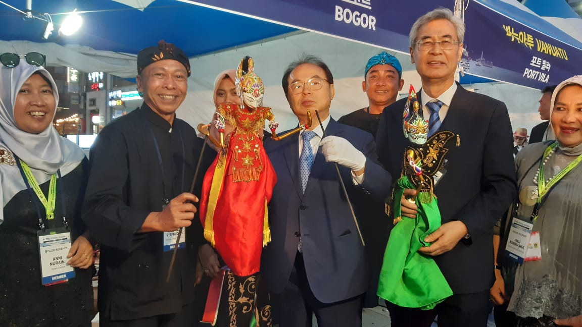 Walikota Busan Korea Selatan Oh Keo Don Ajak Kabupaten Bogor Tingkatkan Kerjasama
