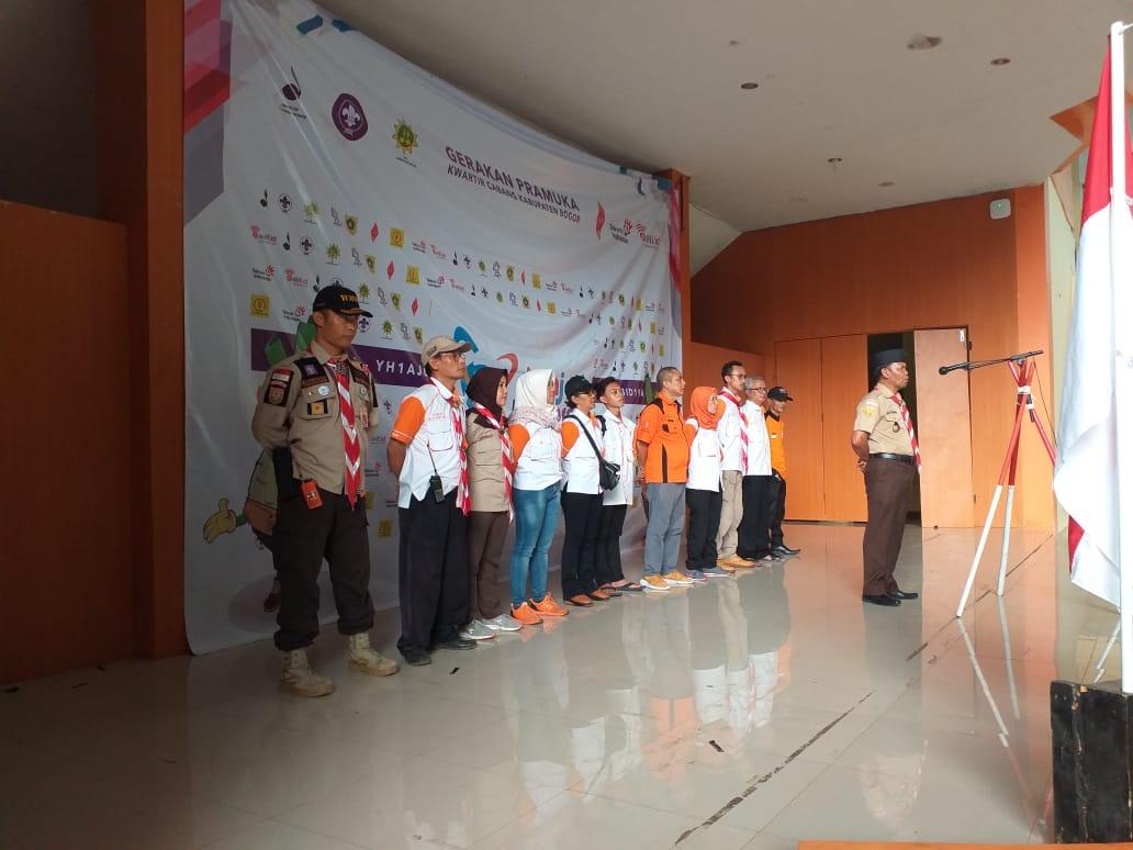 Kwarcab Pramuka Kabupaten Bogor Gelar Jota Joti 237