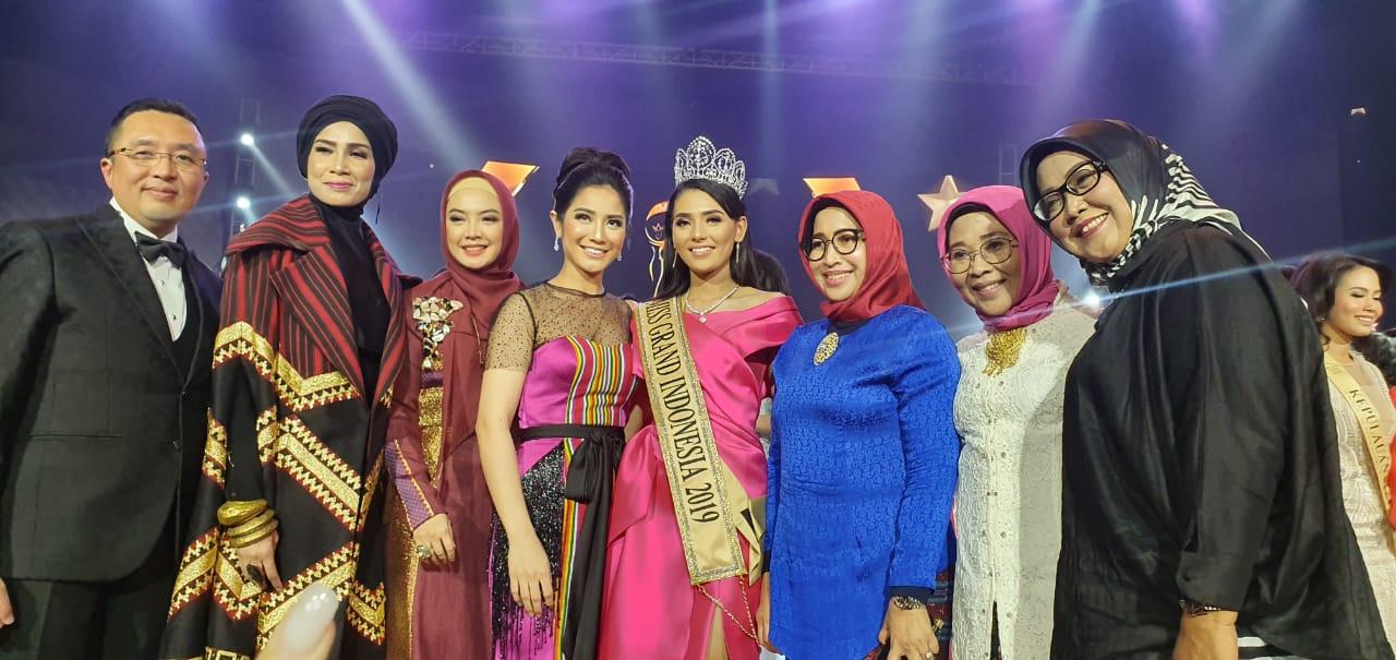 Ade Yasin Jadi Dewan Juri Kehormatan di Malam Final Miss Grand Indonesia 2019